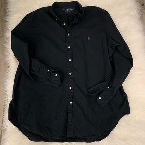Ralph Lauren 2XLT Black Button-Down Shirt 🐎